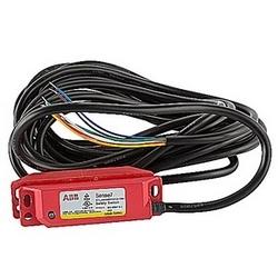 Interrupteur de sécurité de sans contact codée avec câble de 5 mètres, 2 NC et 1 pas de contacts et LED