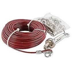 Kit de câble galvanisé 50 mètres avec une clé allen
