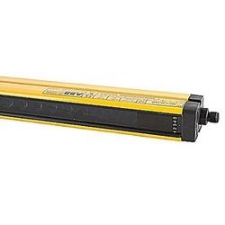 Paire de Rideau photoélectrique de sécurité II, catégorie 4, 1050mm de hauteur protectrice, résolution 14mm l'accent