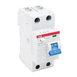 pôle 2, 25 a évalué à 240 V AC, équipement UL 1053 interrupteurs différentiels, type AC, 300mA voyage pénétrants