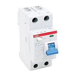 2 pole, 40 amps rated at 240 V AC, UL 1053 ground fault equipment protector, AC type, 100mA trip senstivity