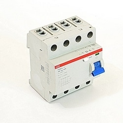 4 pole, 40 amps rated at 480 V AC, UL 1053 ground fault equipment protector, A type, 500mA trip senstivity