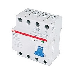 4 pole, 63 amps rated at 480 V AC, UL 1053 ground fault equipment protector, A type, 30mA trip senstivity