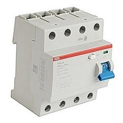 La série ID F200 assure une protection aux personnes et les installations contre le courant de défaut à la terre.  Une grande offre pour types AC et A standard instantanées et sélectives s'achève avec certaines configurations pour des applications spéciales.