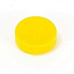 Jaune opaque étendu lentille pour boutons poussoirs non lumineux