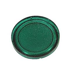 Lentille transparente de chasse vert pour boutons-poussoirs lumineux
