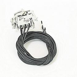 1Q contact auxiliaire et 1SY pour une utilisation sur 2 pôles, 250 v AC/DC A1 à A2 moulés disjoncteurs à boîtier