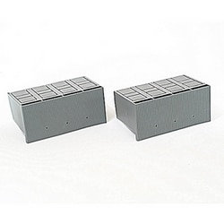 High profile 2 piece terminal cover for 4 pole T5 fixed breakers