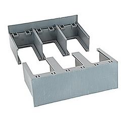 Couvre-bornes haut profil 2 pièce 3 pôle T6 fixe disjoncteurs