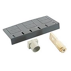 Jeu de 3 bornes arrière pour une utilisation sur les disjoncteurs T6