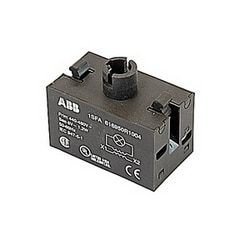 Transformer block for pilot light with 440 to 480V AC primary voltage and 6V AC secondary voltage