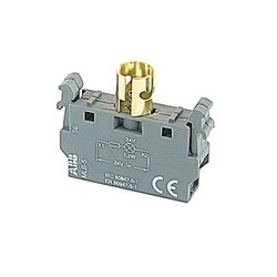 24V single lamp block for front mounting, Ba 9s base