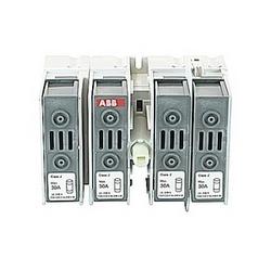 pôle 4, 30 ampères, évalués à 600 V AC, UL 98, ouvrir le sectionneur fusible pour utilisation avec type de fusible J