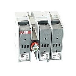 pôle 3, 30 a évalué à 600 V ca, UL 98, côté opéré sectionneur fusible ouvert pour une utilisation avec le type de fusible J