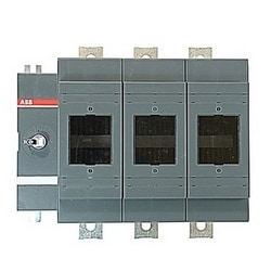 3 pole, 800 amps rated at 600 V AC, UL 98, open fusible disconnect switch for use with L fuse type