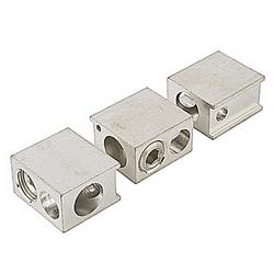 Kit de cosse pour l'aluminium et des câbles en cuivre à équiper des démarreurs PST85-142 avec externe de dérivation (ligne/charge cosses et bornes Ecrou Rondelle)