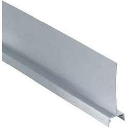 "Wiring Duct Divider Solid Wall 4"" High Rigid PVC Gray"