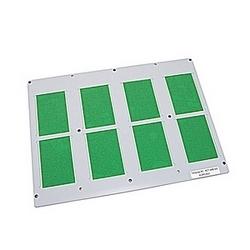 Tapez SPRC1 plaque de support pour les cartes de 8, RC/MC/RCTT/WMTT/BA4/RCT en plein format