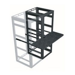 "Writing Shelf, 2 Bay, 18""D Shelf, For 31""D Racks"