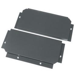 Série BS Q1602-E plate-forme intérieure 22,68 pouces Largeur x 10,47 pouces de profondeur x 2 pouces hauteur, Base en acier, poudre noire Coat