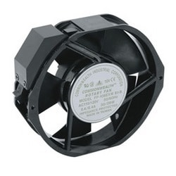 IXE20DN Additional 6 Inch Fan For MW-CFRD Door, Black, 220 CFM