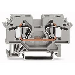 PRINTEMPS BLOC TERMINAL 8MM 600V/30 A/24-10AWG GRIS