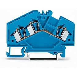PAR TERMINAL BLOCK 3-CHEF D'ORCHESTRE 28 À 12 AWG POUR EX I - BLUE