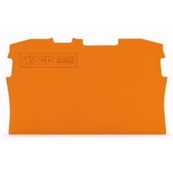 END PLATE FOR 2002-1201       0.8MM ORANGE