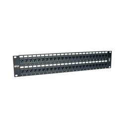 48-Port 2U Rack-Mount Cat5e 110 Patch Panel, 568B, RJ45 Ethernet, TAA