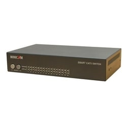 Minicom Smart 116 - 16-Port Cat5 KVM Switch for Rack Environments