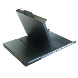 "Minicom SmartRack 116 IP - 16-Port Remote Access Console Cat5 KVM with 17"" LCD"