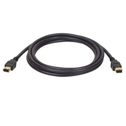 FireWire IEEE 1394 Cable (6pin/6pin M/M) 6-ft.