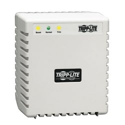 600W 230V Power Conditioner with Automatic Voltage Regulation (AVR), AC Surge Protection, 3 Outlets, UNIPLUGINT Adapter