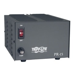 TAA-Compliant 15-Amp DC Power Supply, 13.8VDC, Precision Regulated AC-to-DC Conversion