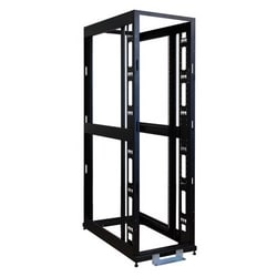 SmartRack 45U Standard-Depth 4-Post Premium Open Frame Rack w/No Sides, Doors or Roof
