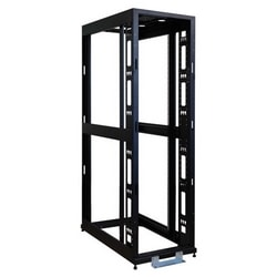 42U SmartRack 4-Post Mid-Depth Open Frame Rack - no sides or doors