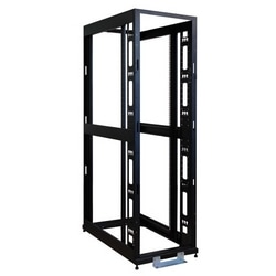 SmartRack 48U Standard-Depth 4-Post Premium Open Frame Rack w/No Sides, Doors or Roof