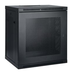 Tripp Lite 12U Low-Profile Wall-Mount Rack Enclosure Cabinet, Removable Side Panels, 25H x 24W x 18D