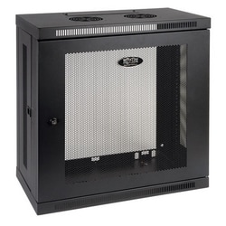 SmartRack 12U Low-Profile Patch-Depth Wall-Mount Rack Enclosure Cabinet