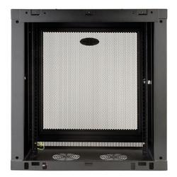 Tripp Lite 12U Low-Profile Wall-Mount Rack Enclosure Cabinet, Removable Side Panels, 25H x 24W x 13D