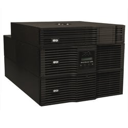 SmartOnline 208 & 120V 8kVA 7.2kW Double-Conversion UPS, 6U Rack/Tower, Extended Run, Network Card Options, USB, DB9, Bypass Switch, NEMA outlets, 50A plug