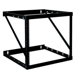 Tripp Lite 12U Heavy-Duty Flat-Pack Low-Profile Wall-Mount 2-Post Open Frame Rack, 25H x 20W x 18D