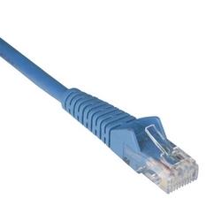 Gigabit CAT6 Snagless Patch moulé Cable (RJ45 M/M) - bleu, 1 pi.