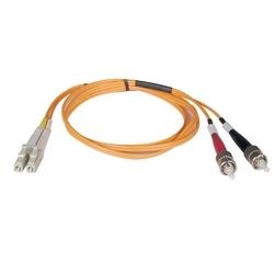 Câble de raccordement de fibre Multimode duplex de 62,5/125 (LC/ST), 10M (33 pi).