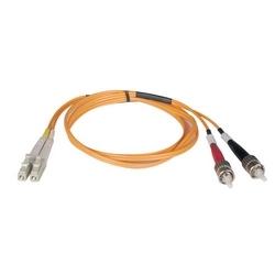Câble de raccordement de fibre Multimode duplex de 62,5/125 (LC/ST), 20M (65 pi).