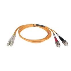 Câble de raccordement de fibre Multimode duplex de 62,5/125 (LC/ST), 30M (100 pi).