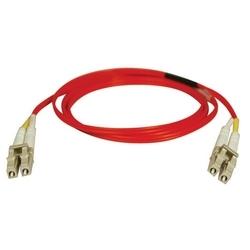 Duplex Multimode 62,5/125 Fibre Patch Cable (LC/LC) - rouge, 2M (6 pi.)