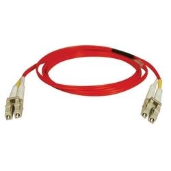 Duplex Multimode 62,5/125 Fibre Patch Cable (LC/LC) - rouge, 10M (33 pi.)