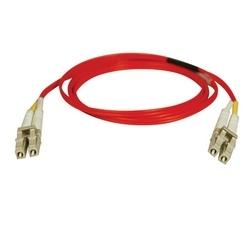Duplex Multimode 62,5/125 Fibre Patch Cable (LC/LC) - rouge, 15M (50 pi.)