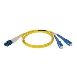 Câble de raccordement fibre monomode duplex 8,3/125 (LC/SC), 10M (33 pi).